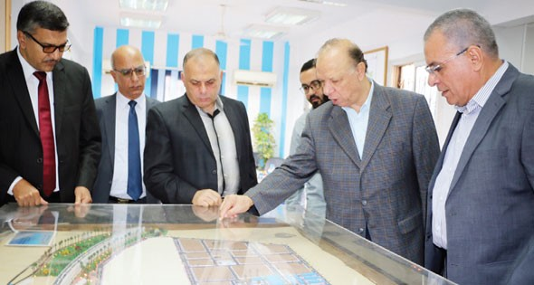 Cairo Governor in Robiki Leather City